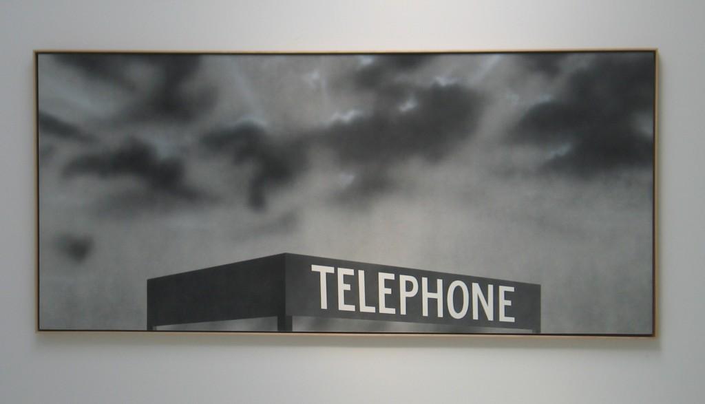 Telephone by Ed Ruscha Venice Biennial 2005 IMG_0460