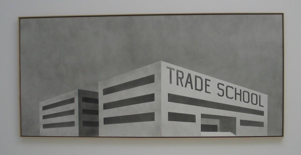 Trade School Ed Ruscha Venice Biennial 2005 IMG_0461