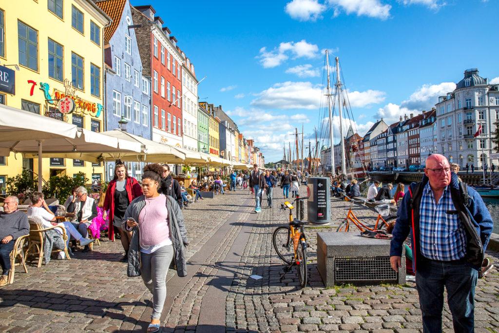 Wandelen met Art en Route in Kopenhagen Nyhaven