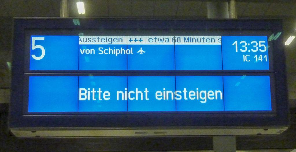 Berlijn Trein